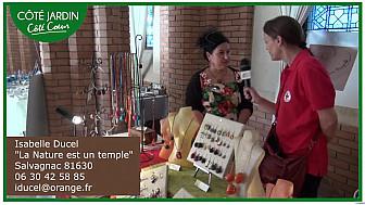 Isabelle Ducel, la Nature est un temple, bijoux uniques à partir de graines.