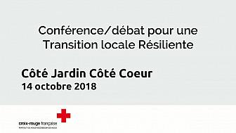Conférence/débat Côté Jardin Côté Coeur 2018 - pour une #transition locale #résiliente @Verdun-sur-Garonne #Croix-Rouge