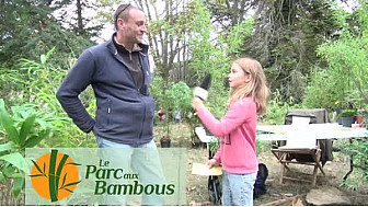 Didier - le Parc aux Bambous au micro de nos jeunes reporters de Lacourt-Saint-Pierre