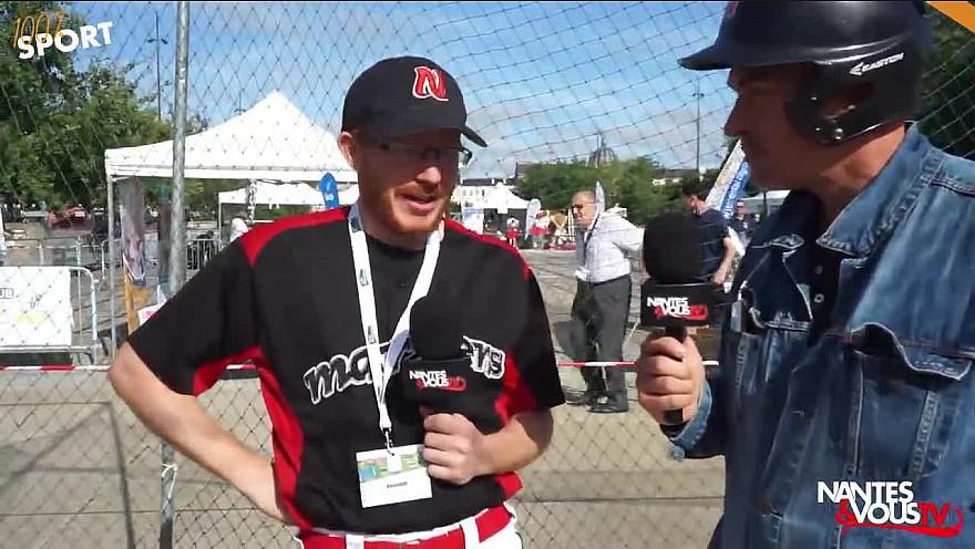 TV Locale Nantes sur Smartrezo : Faire du Baseball à Nantes avec les Mariners