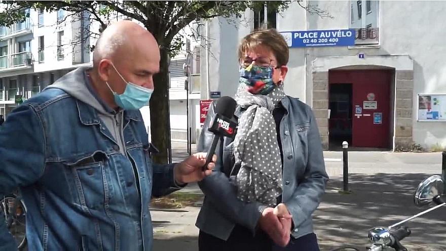 Nantes & Vous TV - Rencontre avec Fanny et Annie-Claude de Place au Vélo